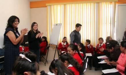 Continúa DIF Pachuca con acciones educativas orientadas a los menores