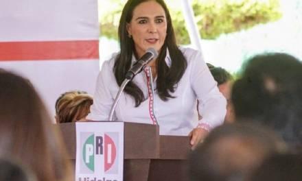 El reto del PRI es confirmar su militancia: Erika Rodríguez
