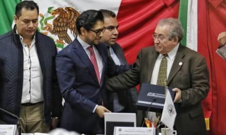 Asael Hernández acusa arbitrariedades de Ricardo Baptista durante comparecencia