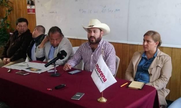 Acusan a Abraham Mendoza de interferir en proceso de renovación de directiva de Morena