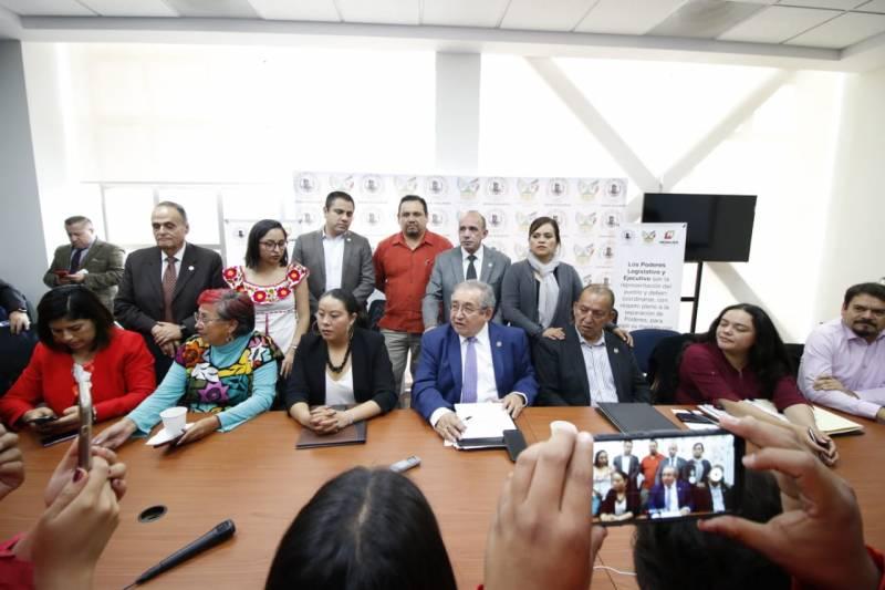 Niega Baptista acuerdo entre diputados para abandonar comparecencia de Simón Vargas