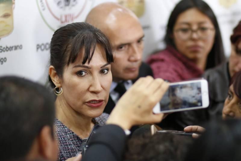 Lamenta Perusquía actitud de diputados de Morena