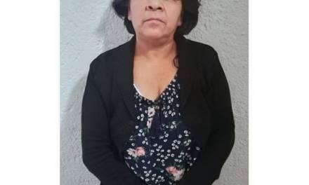 Presunta fardera de Ecatepec es detenida en Pachuca