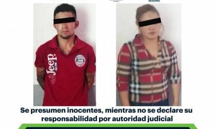 Asegura SSPH a dos en Ixmiquilpan, tras presunto robo de camioneta