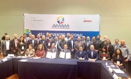 Impulsan políticas públicas en favor de la movilidad: AMAM