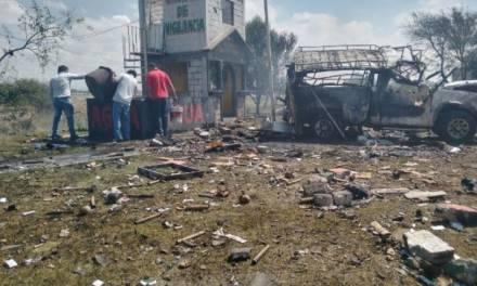 Explosión de polvorín en Zumpango deja al menos dos muertos