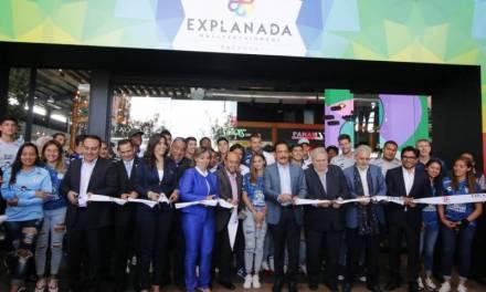 Inauguran Explanada Pachuca con 198 locales comerciales