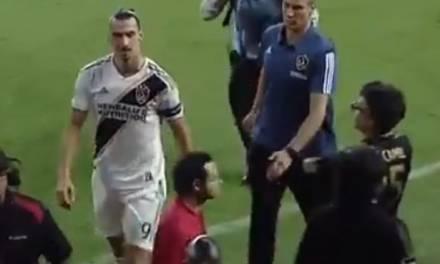 Jaime Camil provoca a Zlatan en partido de la MLS