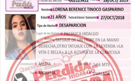 Encuentran sin vida en Tizayuca a joven reportada como desaparecida en Pachuca