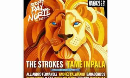 The Strokes y Tame Impala encabezan cartel de Tecate Pa'l Norte 2020