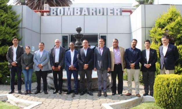 El secretario de Desarrollo Económico de Hidalgo se reúne con industriales de Sahagún y de la Asociación Mexicana de Ferrocarriles