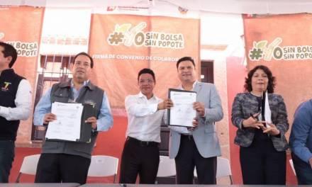 Municipios de la región Tula-Tepeji y Huichapan se suman a yo sin bolsa, yo sin popote