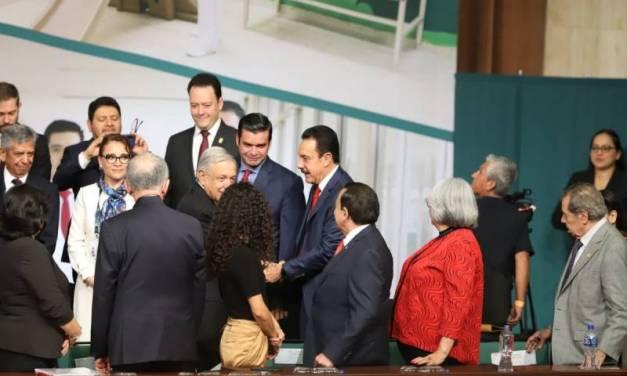 Asiste Fayad a la 110 Asamblea del Instituto Mexicano del Seguro Social