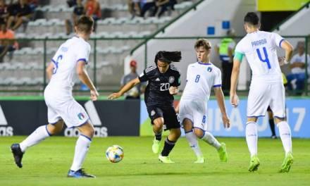 La Selección Mexicana sub 17 cae frente a su similar de Italia