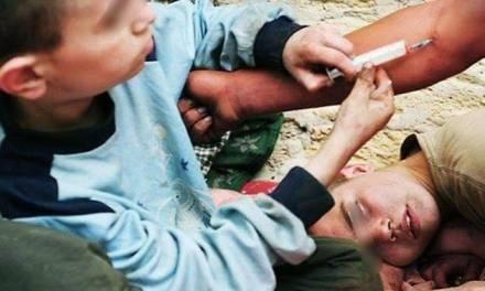 Detectan casos de consumo de drogas en menores de 12 años, en Pachuca