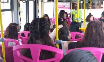Algunos hombres no respetan el Tuzobús exclusivo para mujeres