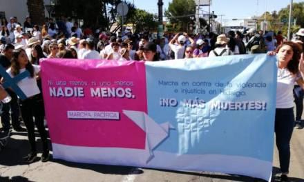 Marchan en Pachuca por desaparición de personas