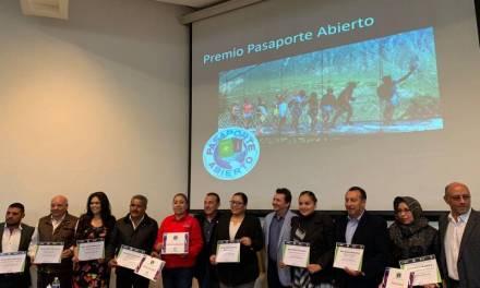 Hidalgo participa en el premio Pasaporte Abierto