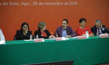 Reconoce Nadine Gasman protocolos de acción en Hidalgo contra violencia de género