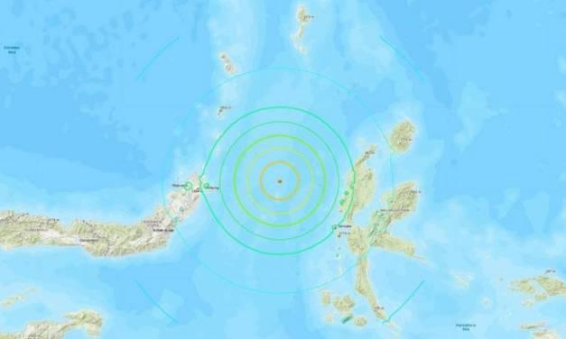 Activan alerta de tsunami en Indonesia
