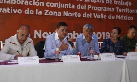 Presentan primeros avances del PTO de la Zona Norte del Valle de México