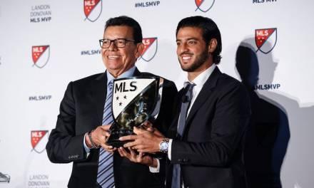 Carlos Vela fue nombrado MVP de la MLS en la temporada 2019