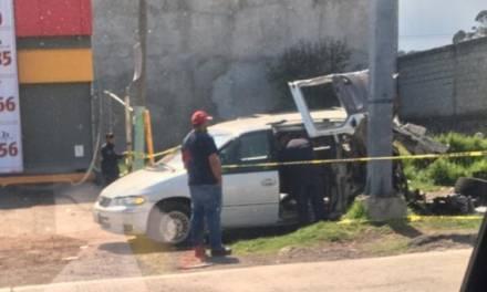 Accidente en la Bajada de San José en Tulancingo deja tres muertos