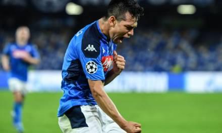 """Un empate con sabor a derrota para el """"Chucky"""" Lozano y su Napoli"""