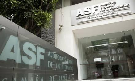 ASF informa sobre resultado de auditorías de dependencias locales