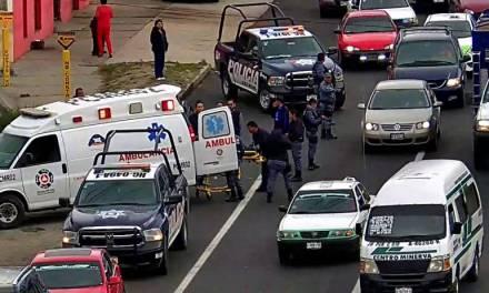 Adolescente fue atropellado en el bulevar Colosio