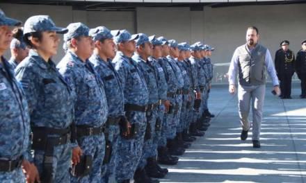 Entrega Gobierno de Hidalgo estímulos y reconocimientos a 25 policías estatales destacados