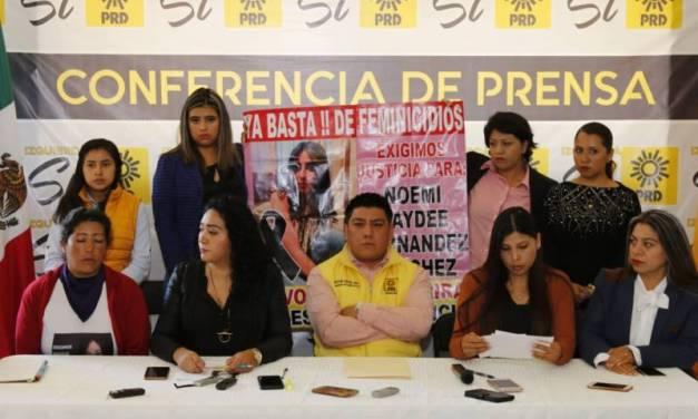 PRD pide que se implemente protocolo de Alerta de Género