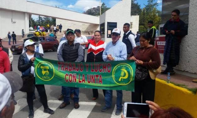 UNTA pide reunión con legisladores federales para tratar tema del presupuesto 2020