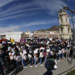 Marchan estudiantes de Pachuca  por desapariciones
