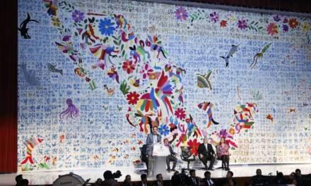 Creadores del tenango más grande del mundo recibirán bono de mil 125 pesos