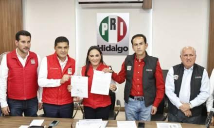 Ratifican a Erika Rodríguez como presidenta estatal del PRI