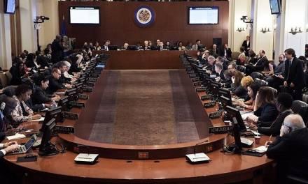 En la OEA 26 países piden elecciones urgentes en Bolivia