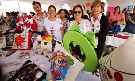 500 mujeres emprendedoras ofrecen sus productos en expo organizada por el ayuntamiento