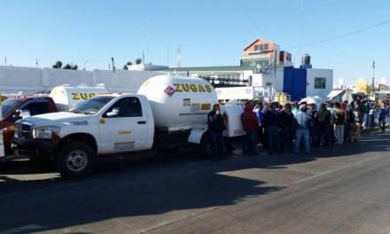 Gaseros cercan empresa Gas de Provincia