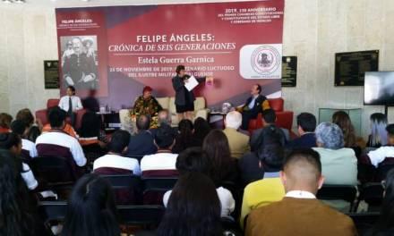 Presentaron libro Felipe Ángeles: Crónica de seis generaciones