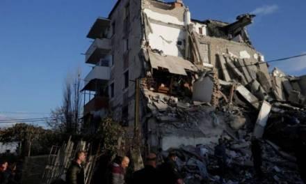 Al menos 13 personas murieron por sismo en Albania