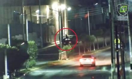 C5i Hidalgo y Policía Estatal aseguran a tres individuos tras presunto robo a comercio