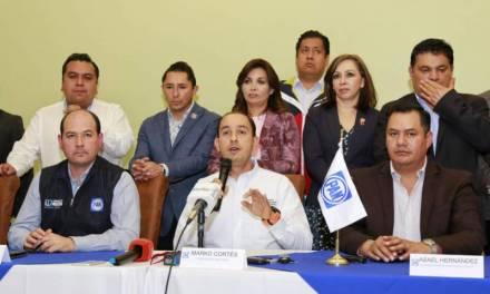 El gobierno federal «asfixia» a municipios, acusa Marko Cortés