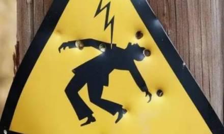 Hombre muere electrocutado en Tulancingo