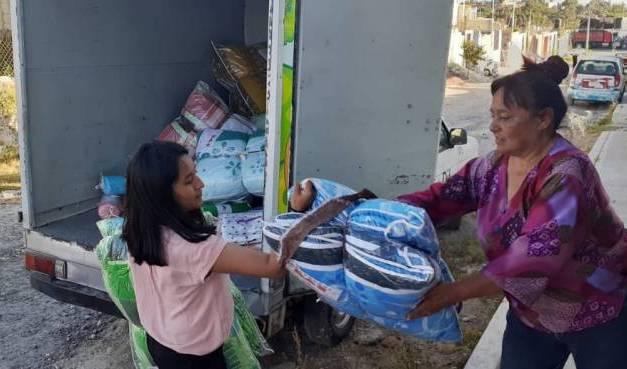 Recibe proyecto productivo persona con discapacidad en Tolcayuca
