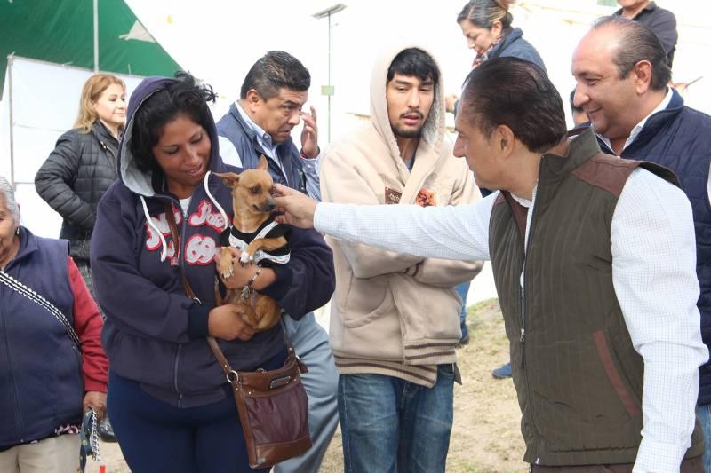 Realizan en Tulancingo Campaña Masiva de Esterilización canina y felina