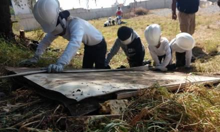 Niños Tolcayuquenses se capacitan en combate de incendios