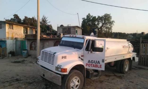 Contingencia en Ciudad Sahagún por desabasto de agua potable
