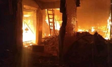 Dos muertos y 8 heridos en el incendio del mercado de La Merced
