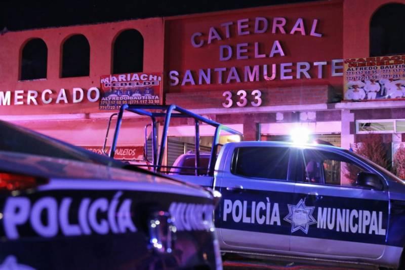 Reportan detonaciones en inmediaciones de la iglesia de la Santa Muerte